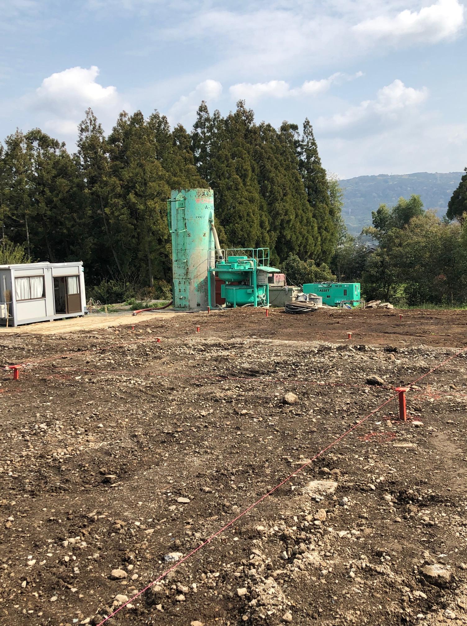 新社屋建設中