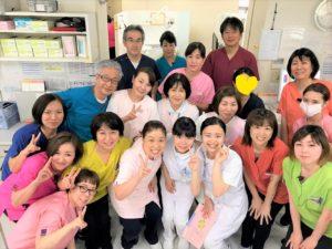 歯科衛生士の実習生を迎えています。